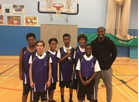 Year 7 Basketball Team win the Croydon Cup